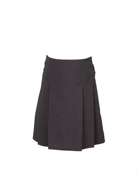 Grey Jnr pleated skirt  (79071)