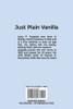 Just Plain Vanilla