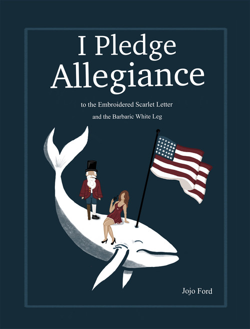 I Pledge Allegiance to the Embroidered Scarlet Letter and the Barbaric White Leg - PB