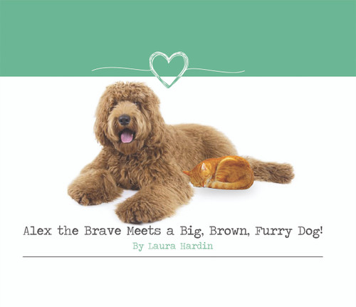 Alex the Brave Meets a Big, Brown, Furry Dog!