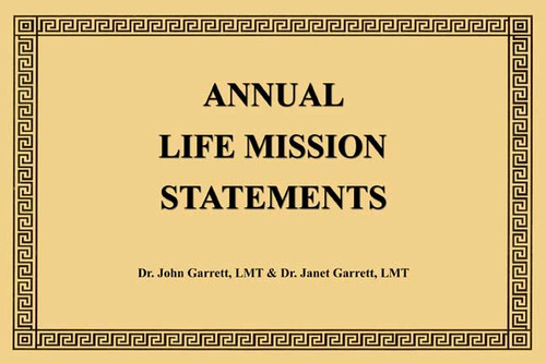 Annual Life Mission Statements