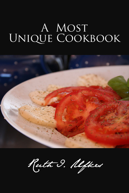 A MOST UNIQUE COOKBOOK