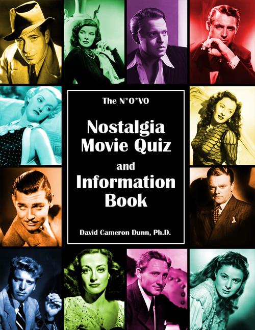 The N*O*VO Nostalgia Movie Quiz and Information Book - eBook