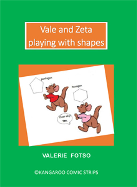 Vale and Zeta Playing with Shapes