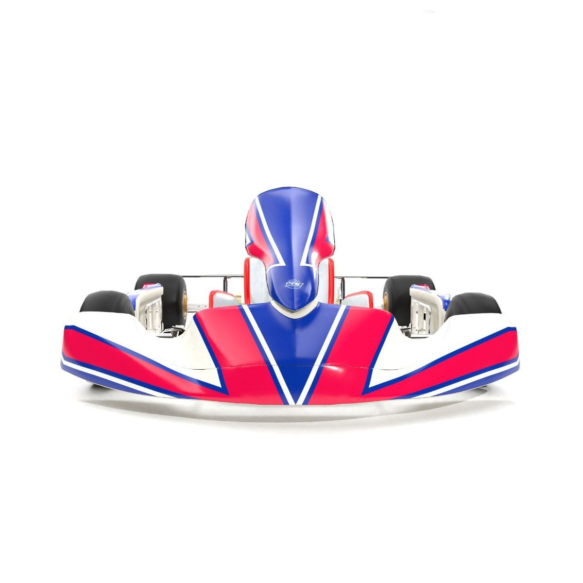 Kosmic 2019 Replica Kart Graphics Kit Front Low View