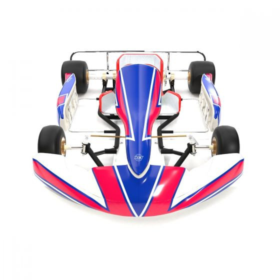 Kosmic 2019 Replica Kart Graphics Kit Front High View