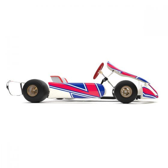 Kosmic 2019 Replica Kart Graphics Kit Side View