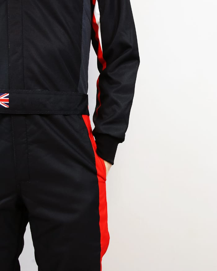 Red Black Lower side of karting suit