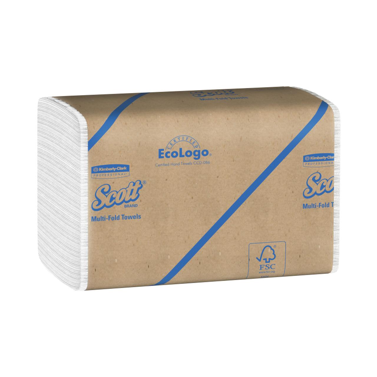 Scott Paper Folded Hand Towel White 175 Count