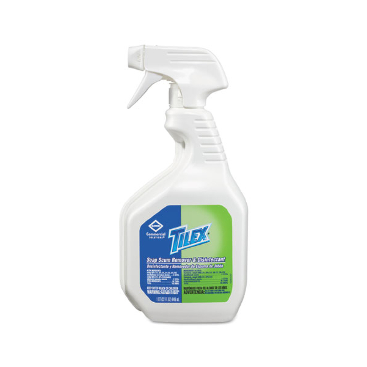Tilex Soap Scum Remover And Disinfectant, 32 Oz Smart Tube Spray (9/case)