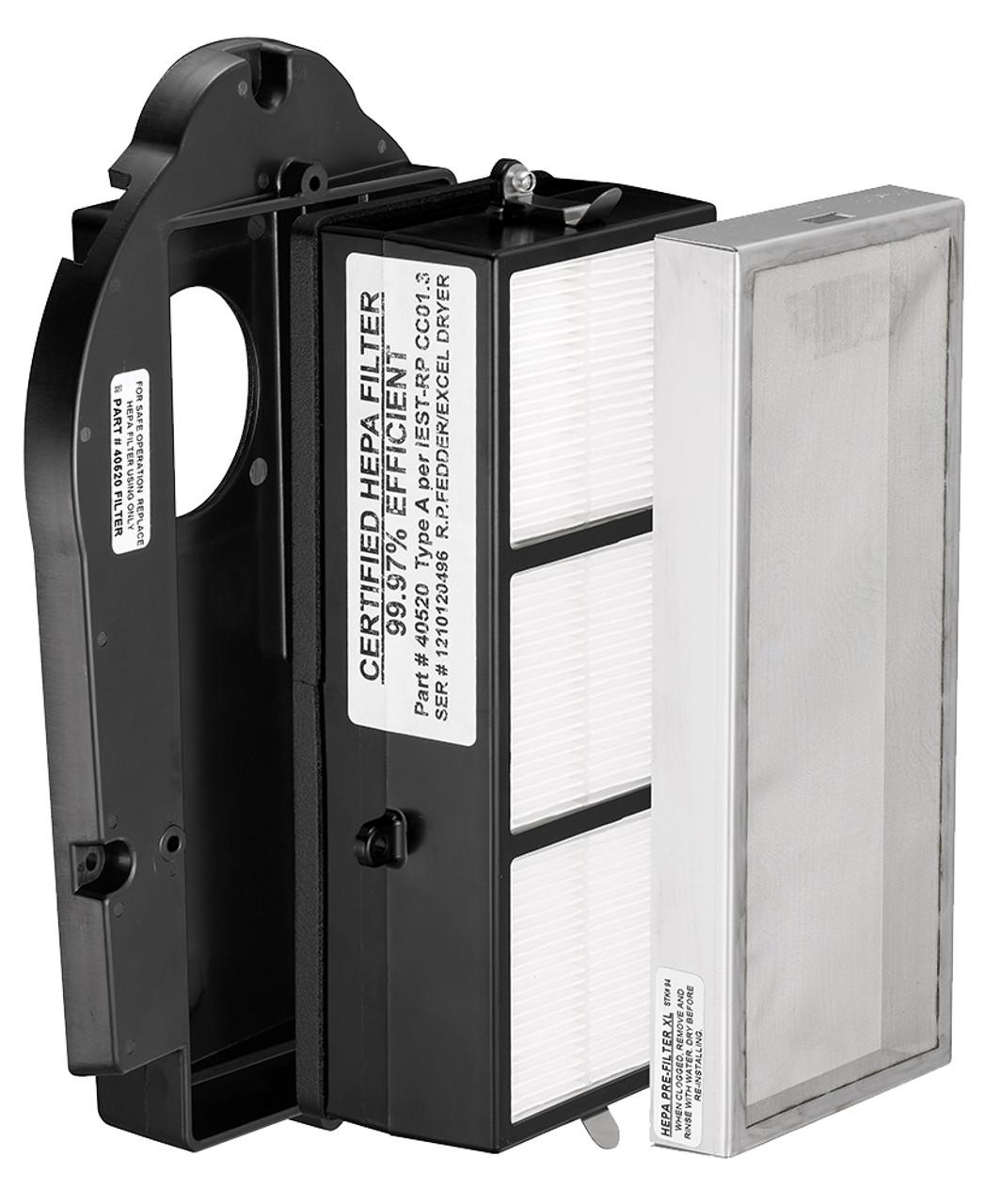 XLERATOR Hand Dryer HEPA Filter Retrofit Kit, XL-40525 on