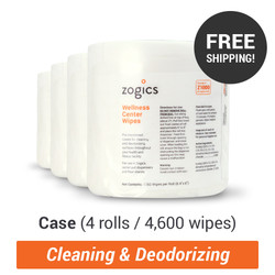 Wellness Center Wipes, Z1000-4 (4 rolls/case) (Z1000-4)