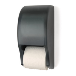 Two Roll Standard Tissue Dispenser, RD0028, Grey