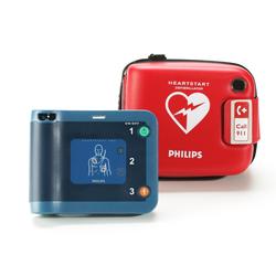 Philips HeartStart FRX AED Defibrillator + Semi-Rigid Carry Case, 861304