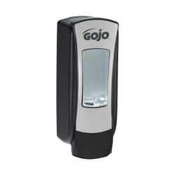 GOJO ADX-12, Foam Soap Dispenser, 1250 mL, Brushed Chrome/Black, 8888-06