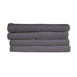 16x28 Bleach Proof Salon Hand Towel, Charcoal Grey, 300A Series, 3lb (300A-ST-CG)