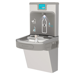 Zogics ELKAY EZ H2O Bottle Filling Station, Single LZ Cooler, Stainless Steel, LZS8WSSP