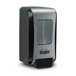 GOJO FMX-20 Foam Soap Dispenser, Black/Chrome, 5271-06