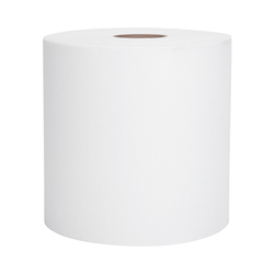 Kimberly-Clark Scott Hard Roll Towels, White, 02068 (400 ft/roll) (12 rolls/case)