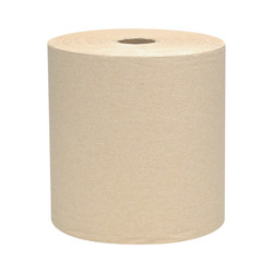 Kimberly-Clark Scott Hard Roll Towels, Brown, 04142 (800 ft/roll) (12 rolls/case)