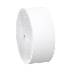 Kimberly-Clark Scott 2-Ply Coreless Jumbo Roll Tissue Jr. Bathroom Tissue, 07006 (1150 ft/roll) (12 rolls/case)