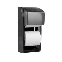 Kimberly-Clark Professional Double Roll Tissue Dispenser, Smoke, 09021 (KCC 09021)