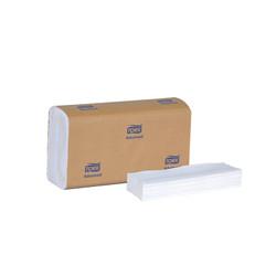Tork Advanced Multifold Hand Towel, White (250 sheets/pack) (16 packs/case) (Tork 424814)