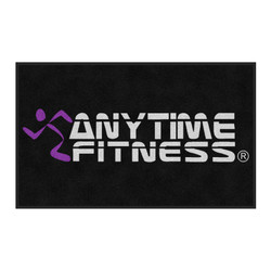 The Andersen Company Anytime Fitness Logo Classic Impressions, Interior Wiper Mat