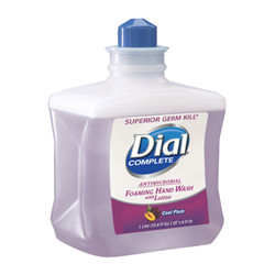 Dial Foaming Hand Wash Refill, Cool Plum Scent, 1000 mL (4 refills/case)