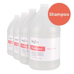 Zogics Shampoo, Citrus + Aloe, SCA128-4 (4 gallons/case)
