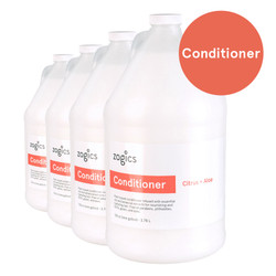 Zogics Conditioner, Citrus + Aloe, CCA128 (4 gallons/case)