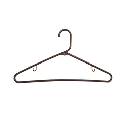 Plastic Tube Hanger Brown (144 units/case) (MQHPTH-B)