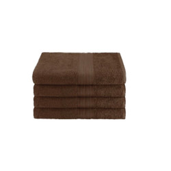 16x27 Ring Spun Hand Towel, Brown, 3lb (Monarch-Hand-Brown)
