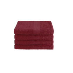16x27 Ring Spun Hand Towel, Burgundy, 3lb (Monarch-Hand-Burgundy)