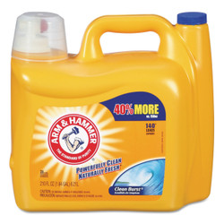 Dual HE clean-burst liquid laundry detergent.