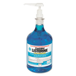 Cool Mint Listerine Mouthwash, 1 Gallon Pump (2/case) (PFI524275000CT)