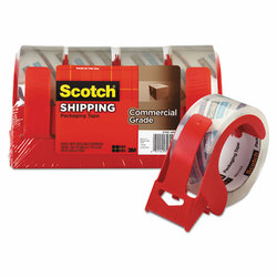 Scotch 3m/commercial Tape Div. 3750 Commercial Grade Packing Tape w/Disp