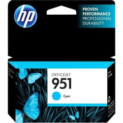 HP 951 Ink Cartridge - Cyan (CN046AN)
