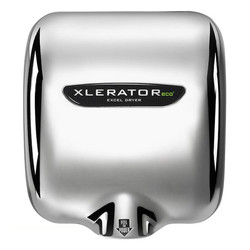 XLERATOReco Hand Dryer, Chrome Plated, XL-C-ECO