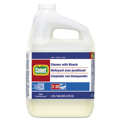 PGC02291CT Procter & Gamble Comet Cleaner with Bleach, Liquid, One Gallon Bottle, 3/Carton