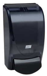 Deb Re-Style Curve Foam Soap Dispenser, 1 Liter, Transparent Black