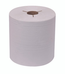 Tork Roll Paper Towels, Natural White, 8""