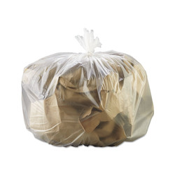 Gen High-Density Can Liner, 33 x 39, 33gal, 13mic, Natural, 25 Bags/RL, 10 Rolls/CT (GEN333916)