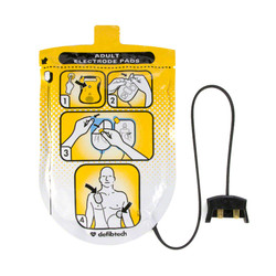 Defibtech DDU-100 Series Defibrillation Pad Package, Adult (1 set) (DDP-100)