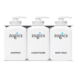 Zogics Bulk Personal Care Dispensers, 3 Chambers