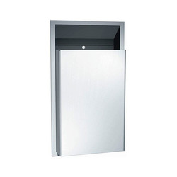 American Specialties Semi-Recessed Waste Receptacle (ASI-0458)