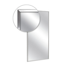 A&J Washroom Channel Frame Mirror (U711)