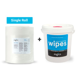 Value Wipes (single roll) + Bucket Dispenser (Z1500B)