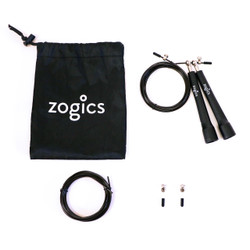 Zogics Premium Speed Jump Rope, Adjustable Length