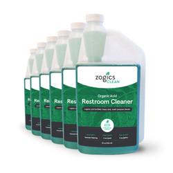 Zogics Organic Acid Restroom Cleaner, 32 oz (6 units/case) (CLNREC32CN-6)
